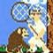Super Monkey Poop Fight -  Przygodowe Gra